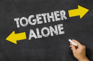 Ensam i äktenskapet